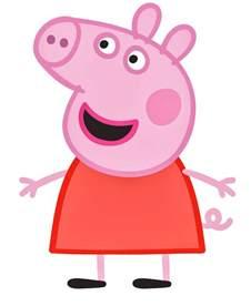peppa pig cartoon characters