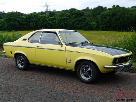 1972 opel manta 1972 opel manta rallye 1 9 automatic