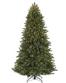 7 colorado blue spruce tree with clear lights christmas