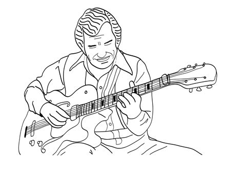 music coloring pages to print 2014 printable music coloring page jazz guitar for