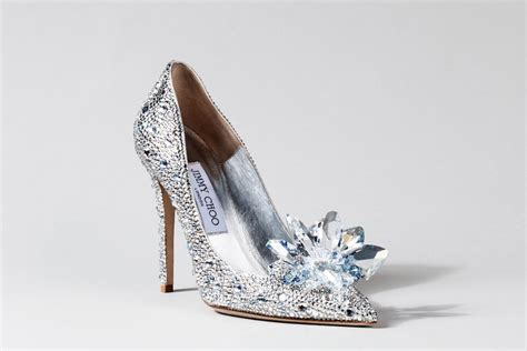 real glass slippers wedding shoes the designer cinderella inspired glass slippers been