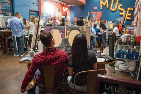 Muse Paintbar Opens In Ridge Hill This August Yonkers