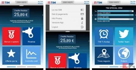 uno mobile credito residuo controllare il consumo dati per tim vodafone wind 3