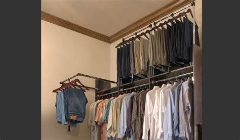 Pull Closet Rod Systems by Http Www Tailoredliving Images Gallery Tl Slider