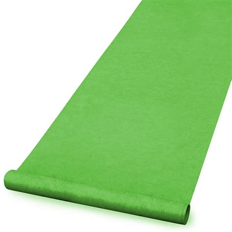 Green Rug Runner by Factory Direct Event Green Carpet Runners For Sale