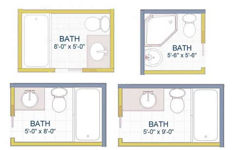 Small Bathroom Layout Designs by Exles Of Small Bathroom Layout Ideas Bathroom Decor Ideas