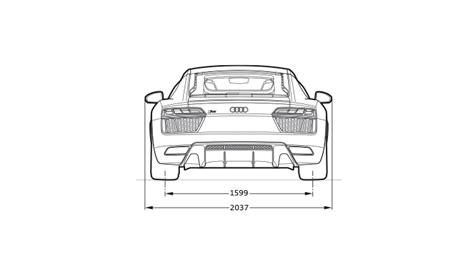 Audi R8 Dimensions by Audi R8 Coupe Audi Sa Gt Home Audi Sa
