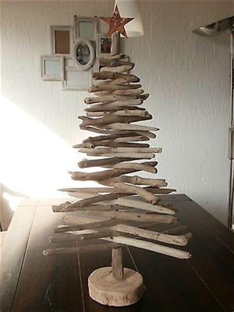 weihnachtsbaum aus schwemmholz weihnachtsbaum treibholz holz natur shabby chic deko baum