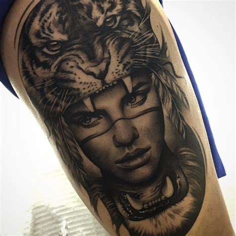 indian lady tattoo designs 52 shockingly epic tiger tattoos tattooblend