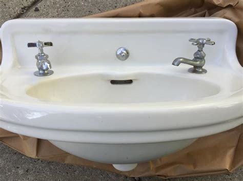Vintage Porcelain Sinks by Vintage Porcelain Cast Iron Wall Mount Sink