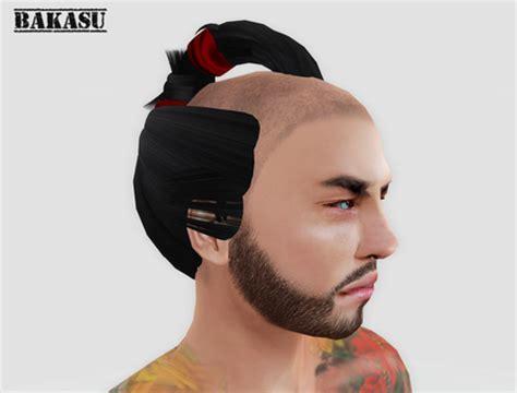 edo period male hairstyles second life marketplace bakasu chonmage samurai