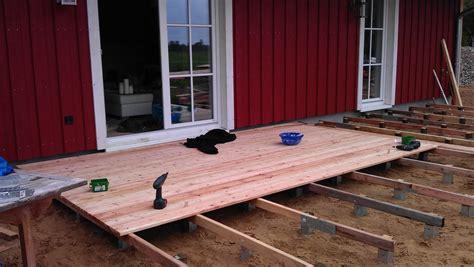 Wie Baut Eine Terrasse by Wie Baut Eine Terrasse Haloring