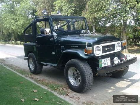 Toyota Fj 40 For Sale Toyota Land Cruiser Fj40 1982 For Sale In Lahore Pakwheels