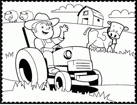 tractor coloring pages preschool free print out tractor coloring pages for preschool