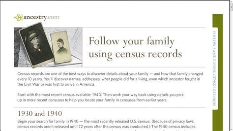 U S Records Free Genea Musings Ancestry U S Census Records Free Until 3 September