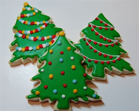 iced christmas sugar cookies google search cookie