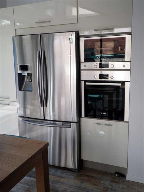 frigo cuisine encastrable frigo americain dans cuisine equipee galerie et frigo