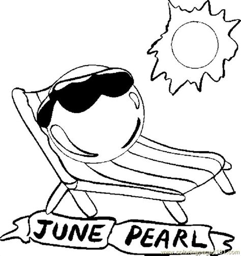 free printable june coloring pages free june month coloring pages