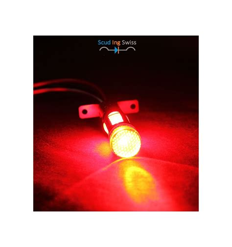 1157 Bay15d Red Led Light With Diffuser Optical Lens Led Light Diffuser