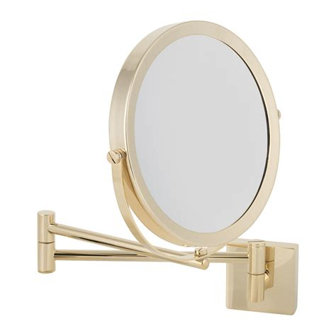 gold bathroom mirrors buy decor walther sp 28 cosmetic mirror gold amara