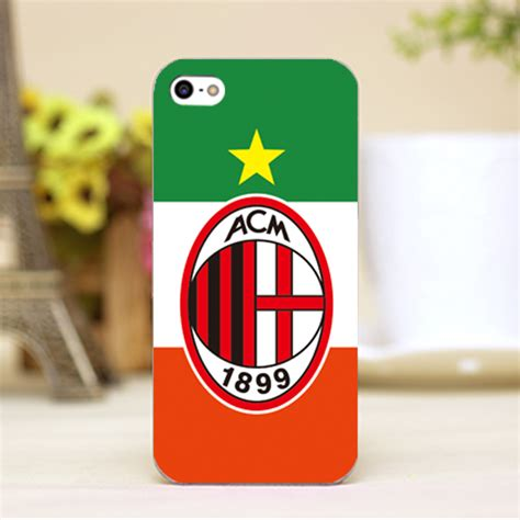 Casing Iphone X Fc Internazionale Milan Logo Custom Hardcase Cover ac milan fc football badge iphone 4 4s 5 5s 6 6s rossoneri logo ebay