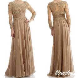 mother of the bride groom dresses lace applique formal