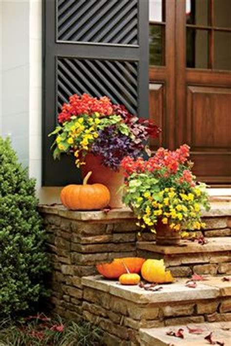 fall flower garden ideas 1000 ideas about fall container gardening on