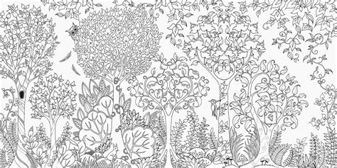secret garden or enchanted forest coloring book surlalune tales thursday enchanted forest