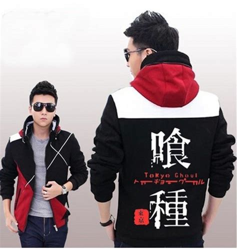 Jaket Style Black Snk Sleeve 2014 new styel anime tokyo ghouls clothing sweater