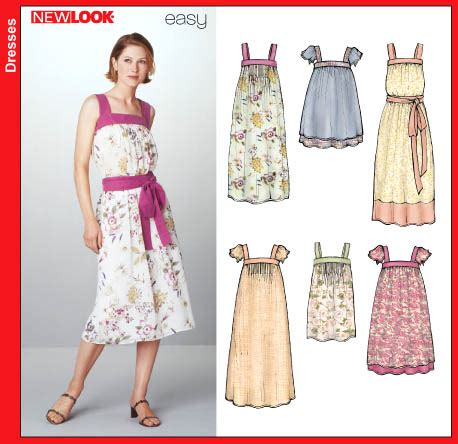 sewing pattern review blog new look 6239 misses dress and top