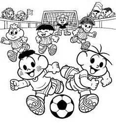 voetballende kinderen kleurplaat | kleurplaten wk 2018
