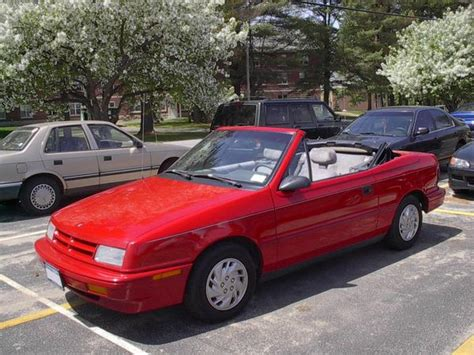 small engine maintenance and repair 1994 dodge shadow spare parts catalogs dodge shadow convertible photos and comments www picautos com