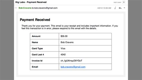 email receipt template html stripe plugin 171 dig labs