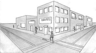 3d building drawing drawing 3d buildings www imgarcade com online image