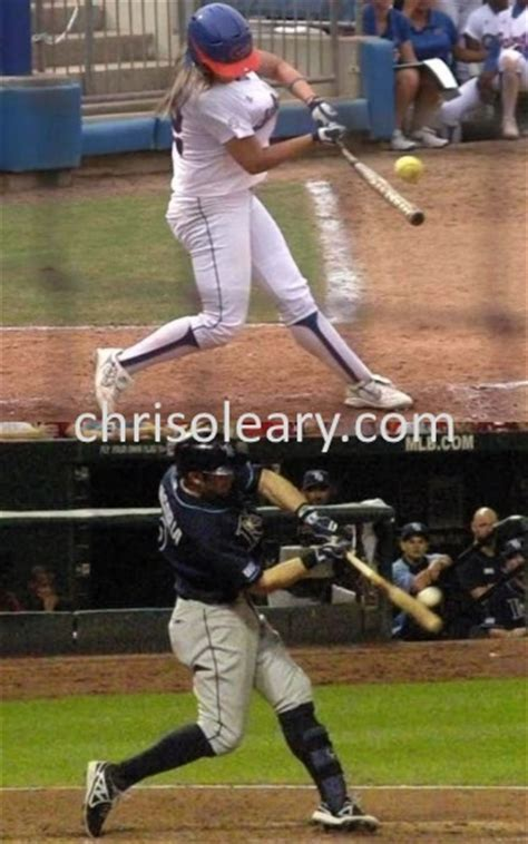 baseball vs softball swing baseball swing vs softball swing page 5