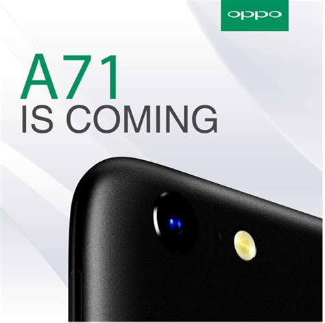 Auto Focus Oppo A71 the oppo a71 will be launched in kenya later this month techarena