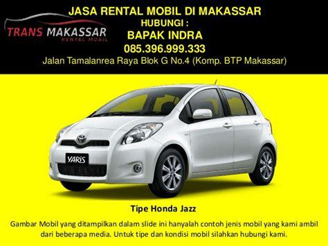 Lu Mobil Jazz termurah 0853 9699 9333 rental mobil makassar rental