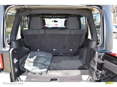 Jeep Wrangler Unlimited Trunk 2011 Jeep Wrangler Unlimited Sport 4x4 Trunk Photo