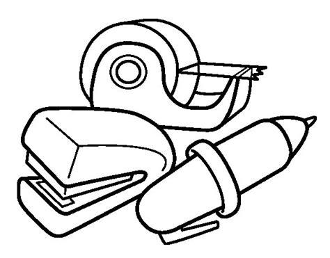imagenes utiles escolares para pintar dibujo de material de colegio para colorear dibujos net
