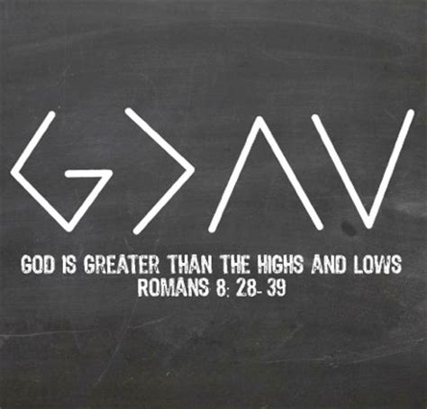 god is greater than the highs and lows tattoo god is greater than the highs lows wk 1