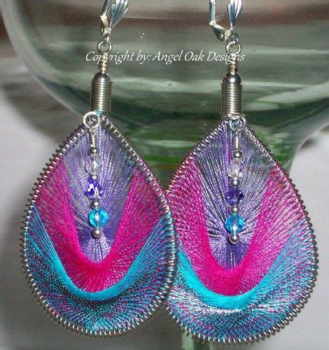 Jewelry Threads And Wire by 138 Best Thread Earrings Images On String