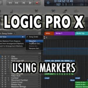 video tutorial logic pro x logic pro x using markers video tutorial movies and