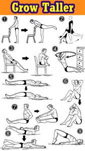 1000 images about grow taller exercises on pinterest