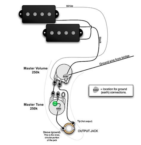 fender bass wiring diagrams wiring diagram and schematic