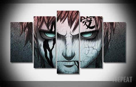 Anime 5 Canvas by 20 Ideas Of Anime Canvas Wall Wall Ideas