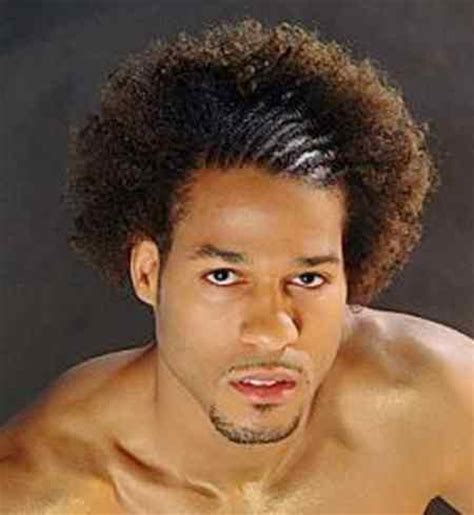 cool afro hairstyle with half braids, picture inside