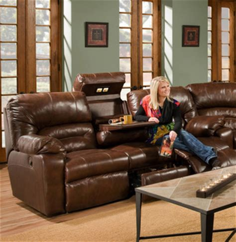 franklin reclining sofa with drop table dakota recliner sofa with drop table by franklin