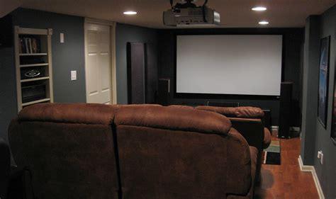 projector installation nj involves screen install  home