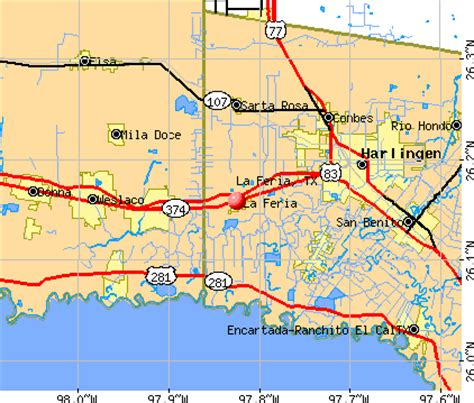 la feria texas map la feria texas tx 78559 profile population maps real estate averages homes statistics