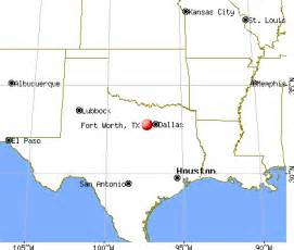Fort Worth Tx To Tx Fort Worth Map